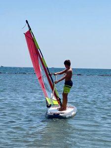windsurf per i bambini
