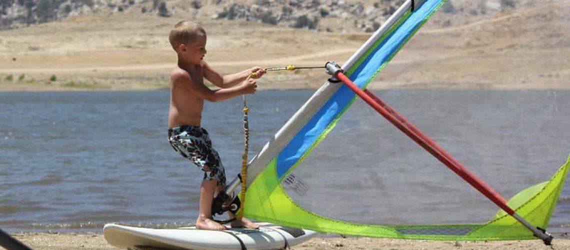 simulatore windsurf
