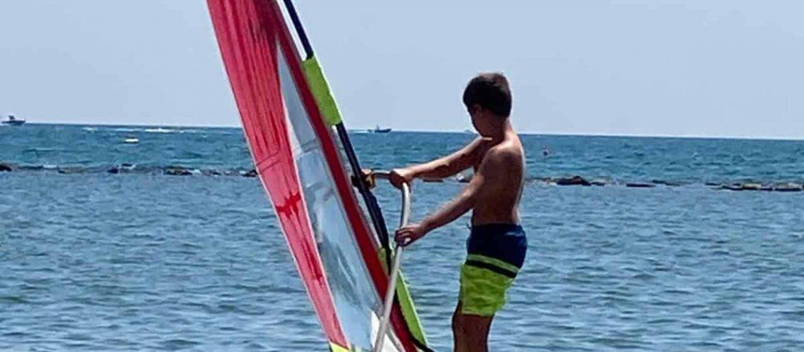 corsi windsurf bambini